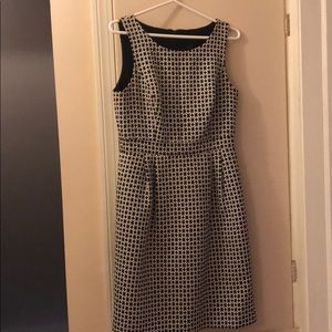 White House Black Market 50s mod dress
